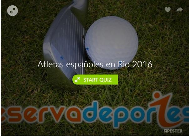 atletas españoles rio