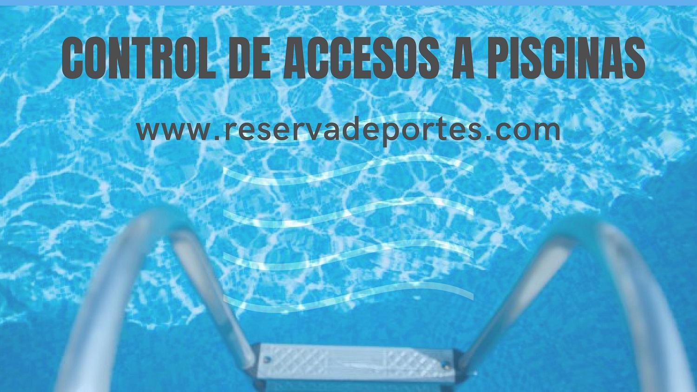 Control de aforo acceso PISCINAS