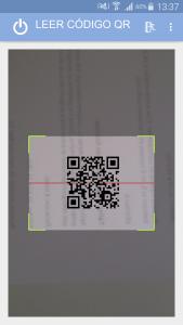 Escaneo-código-QR - PISCINA